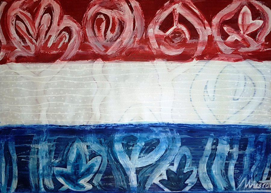 Neerlandés 12. Técnica mixta sobre cartulina 40x30 cm