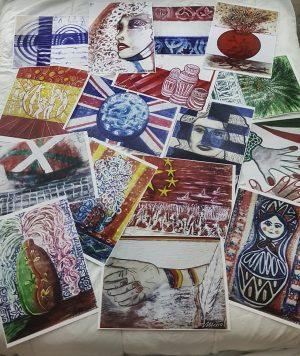 Láminas de banderas Massot